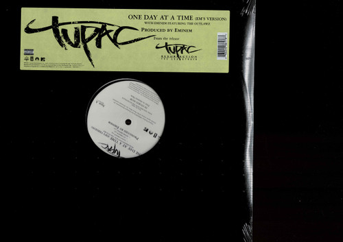 """TUPAC (12"""")-One Day At A Time (6 Mixes) Prod By Eminem Vinyl LP-Brand New-Still Sealed"""