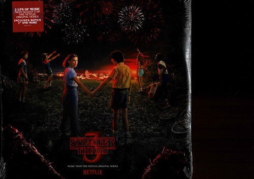 STRANGER THINGS (2 LP's) Season 3-Music From the Netflix Original Series Vinyl LP-Brand New-Still Sealed
