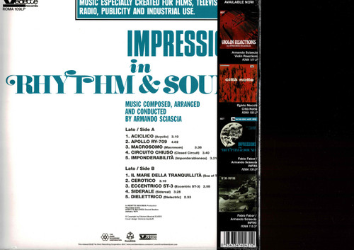 Armando Sciascia (180 gram)-Impressions In Rhythm & Sound Vinyl LP-Brand New-Still Sealed