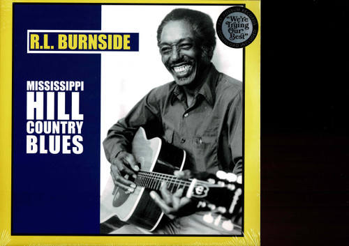R.L. BURNSIDE-Mississippi Hill Country Blues Vinyl LP-Brand New-Still Sealed
