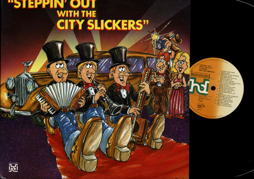 The City Slickers (5)-Steppin' Out-VINYL LP-USED-Australian press-VILP_1321