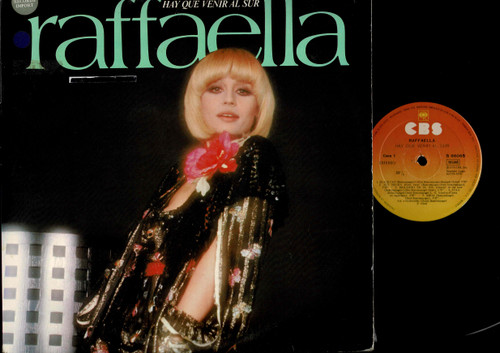 Raffaella Carrà-Hay Que Venir Al Sur-VINYL LP-USED-Spanish press-VILP_1322