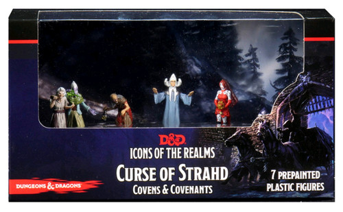 Dungeons & Dragons - Icons of the Realms Curse of Strahd Covens & Covenants Premium Box Set-WZK96027-WIZKIDS GAMES