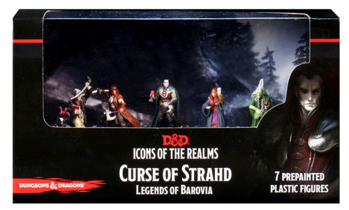 Dungeons & Dragons - Icons of the Realms Curse of Strahd Legends of Barovia Premium Box Set-WZK96026-WIZKIDS GAMES