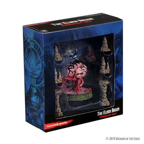 Dungeons & Dragons - Icons of the Realms Elder Brain & Stalagmites Premium Set-WZK73944-WIZKIDS GAMES