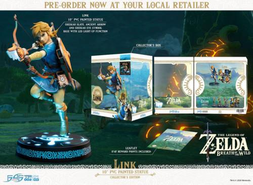 The Legend of Zelda - Link Breath of the Wild Collectors PVC Statue-F4FBOTWLC-FIRST 4 FIGURES