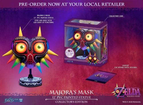 The Legend of Zelda - Majora's Mask Collector's Edition PVC Statue-F4FLZMMCO-FIRST 4 FIGURES