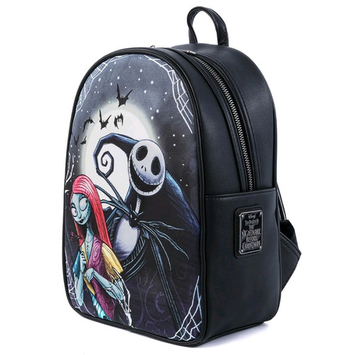 The Nightmare Before Christmas - Simply Meant To Be Mini Backpack-LOUWDBK1243-LOUNGEFLY