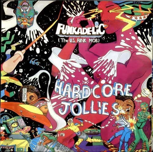 Funkadelic -Hardcore Jollies Vinyl LP-Brand New-Still Sealed