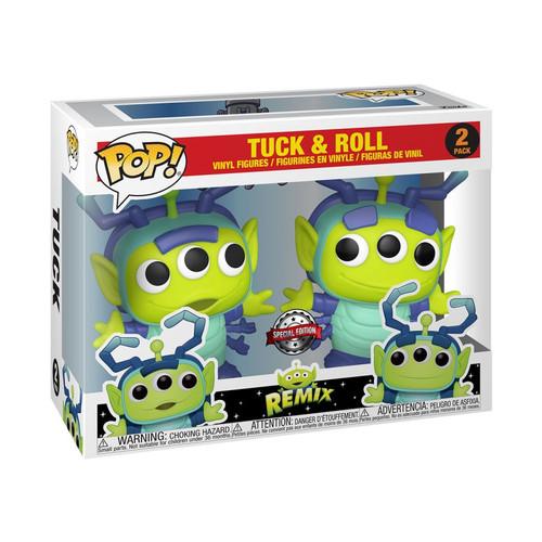 Pixar - Alien Remix Tuck & Roll US Exclusive Pop! Vinyl 2-Pack [RS]-FUN48549-FUNKO