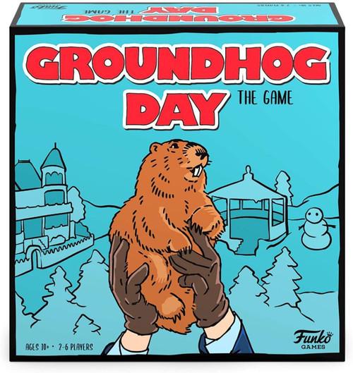 Groundhog Day - The Game & Punxsutawney Phil Flocked US Exclusive Pop! Vinyl Bundle-FUN54751-FUNKO