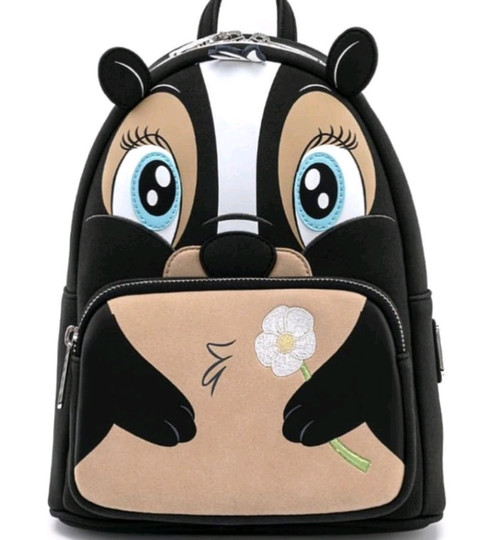 Bambi - Flower Mini Backpack-LOUWDBK1408-LOUNGEFLY