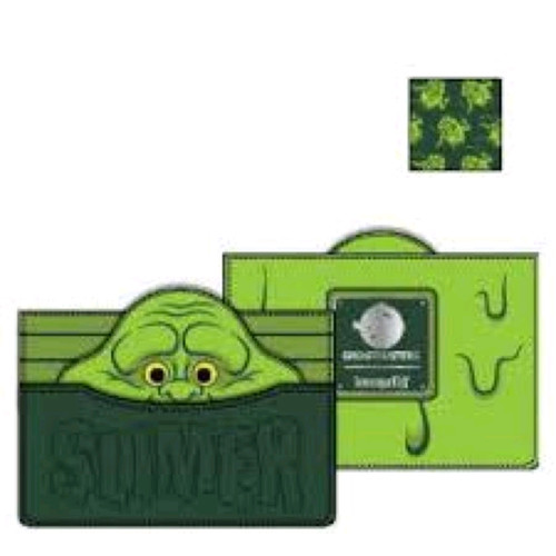 Ghostbusters - Slimer Card Holder-LOUGBWA0004-LOUNGEFLY