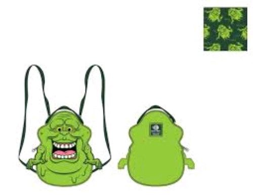 Ghostbusters - Slimer Convertible Backpack-LOUGBBK0006-LOUNGEFLY