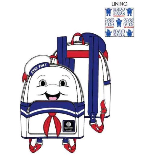 Ghostbusters - Stay Puft Backpack-LOUGBBK0005-LOUNGEFLY