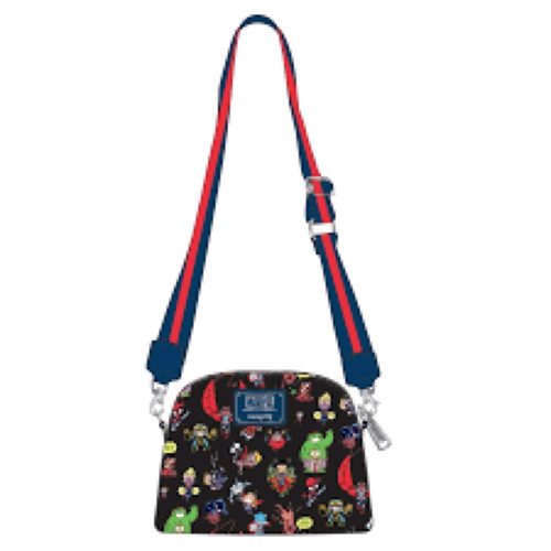 Marvel - Chibi Group Crossbody-LOUMVTB0131-LOUNGEFLY