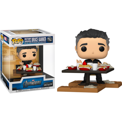 Avengers Movie - Bruce Banner Victory Shawarma US Exclusive Pop! Deluxe [RS]-FUN54899-FUNKO