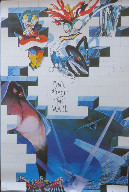 Pink Floyd - The Wall-Poster-Laminated available-91cm x 61cm-Brand New