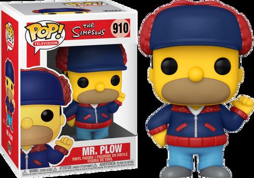 The Simpsons - Mr Plow US Exclusive Pop! Vinyl [RS]-FUN52253-FUNKO