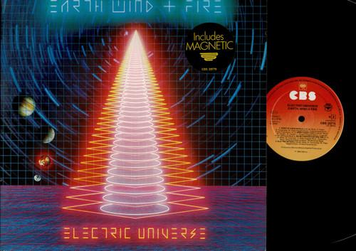 Earth, Wind & Fire-Electric Universe-VINYL LP-USED-EU press-RELP_1330