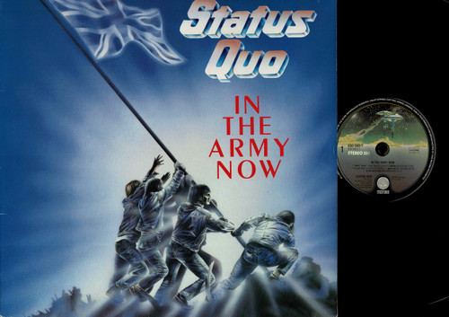 Status Quo-In The Army Now-VINYL LP-USED-EU press-RELP_1350