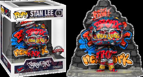 Marvel - Stan Lee Graffiti Deco US Exclusive Pop! Deluxe [RS]-FUN52708-FUNKO