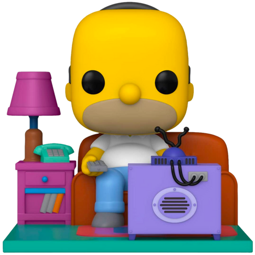 The Simpsons - Couch Homer Pop! Deluxe-FUN52945-FUNKO