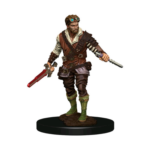 Dungeons & Dragons - Premium Human Rogue Male Miniature-WZK93022-WIZKIDS GAMES