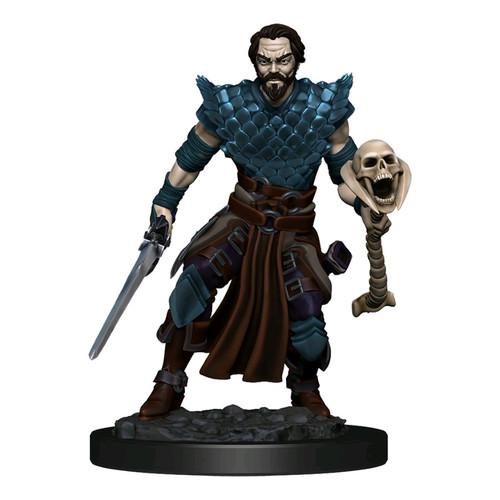 Dungeons & Dragons - Premium Human Warlock Male Miniature-WZK93024-WIZKIDS GAMES