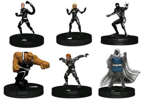 Heroclix - Future Foundation Fast Forces 6-pack-WZK84782-WIZKIDS GAMES