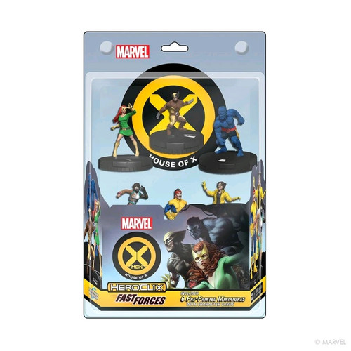 Heroclix - X-Men House of X Fast Forces 6-pack-WZK84766-WIZKIDS GAMES