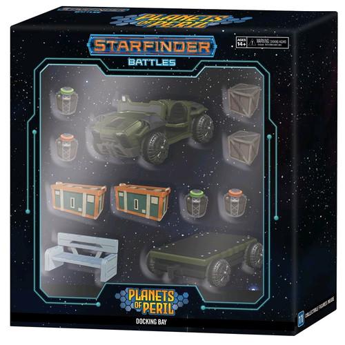Starfinder Battles - Docking Bay Premium Set-WZK99004-WIZKIDS GAMES