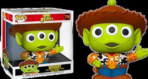 "Pixar - Alien Remix Woody 10"" Pop! Vinyl-FUN48344-FUNKO"