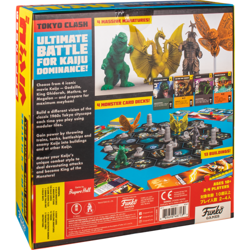 Godzilla - Tokyo Clash Strategy Game-FUN48713-FUNKO