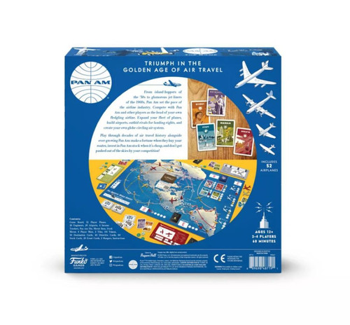 Pan Am - Strategy Game-FUN48719-FUNKO