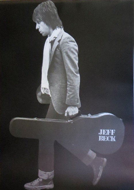 Jeff Beck -Guitar Case -Poster-Laminated available-90cm x 60cm-Brand New