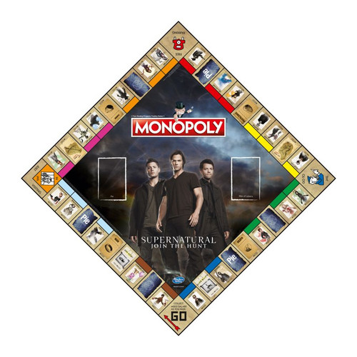Monopoly - Supernatural Edition-WINWM00512-WINNING MOVES