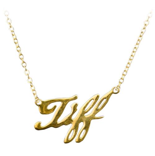 Child's Play - Tiffany 18K Gold Necklace Replica-TTSTTUS142-TRICK OR TREAT STUDIOS