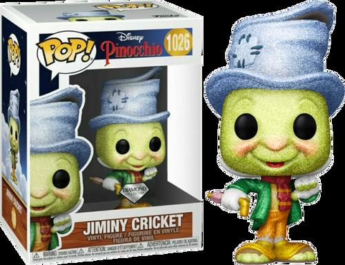 Pinocchio - Street Jiminy Diamond Glitter US Exclusive Pop! Vinyl [RS]-FUN51670-FUNKO