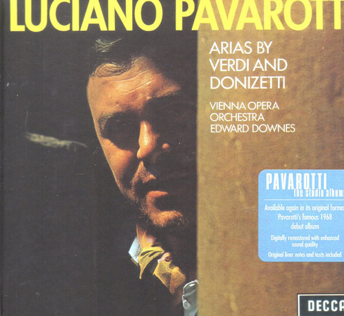 Luciano Pavarotti-Arias By Verdi And Donizetti CD -Brand New-Still Sealed