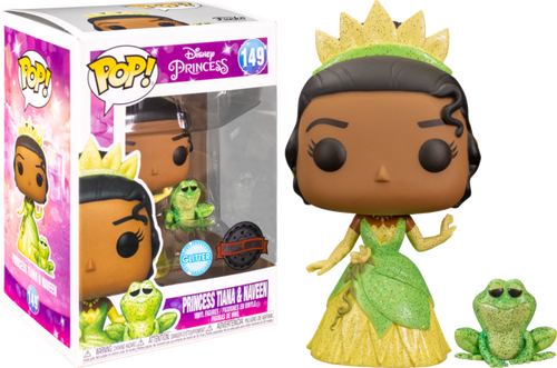 The Princess and the Frog - Tiana & Naveen Glitter US Exclusive Pop! Vinyl [RS]-FUN54673-FUNKO