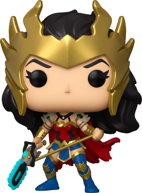 Wonder Woman - Death Metal 80th Anniversary US Exclusive Pop! Vinyl-FUN55090-FUNKO