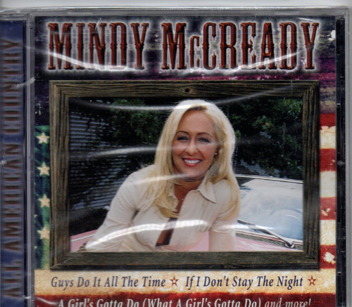 MINDY McCREADY-All American Country CD-Brand New-Still Sealed