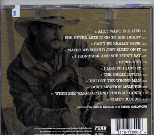 TIM MCGRAW-All I Want CD-Brand New-Still Sealed