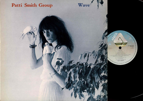 Patti Smith Group-Wave (With Insert)-VINYL LP-USED-EU press-RELP_1396