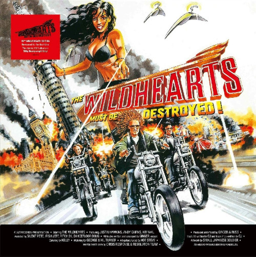 WILDHEARTS-The Wildhearts Must Be Destroyed-Vinyl Lp-Brand new/Still Sealed-LAS_152