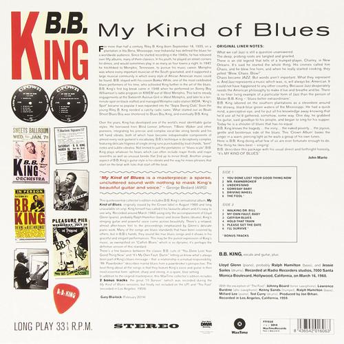 B.B. KING-My Kind Of Blues-Vinyl Lp-Brand new/Still Sealed-LAS_11