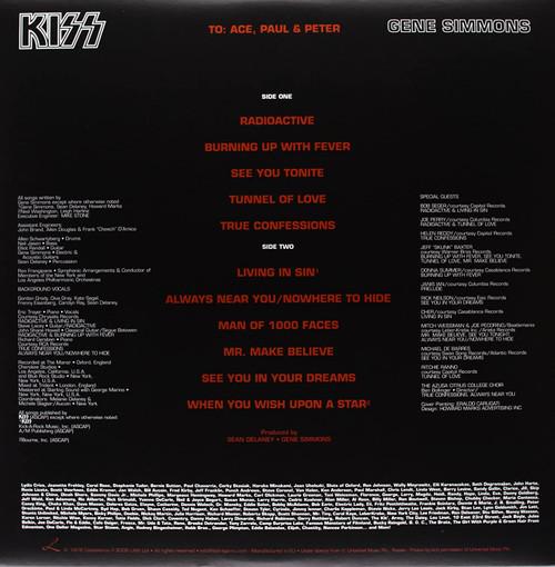 GENE SIMMONS (KISS)-Gene Simmons-Vinyl Lp-Brand new/Still Sealed-LAS_46