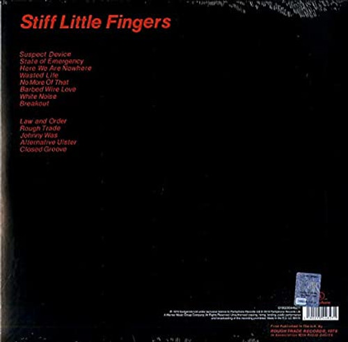 STIFF LITTLE FINGERS-Inflammable Material-Vinyl Lp-Brand new/Still Sealed-LAS_125