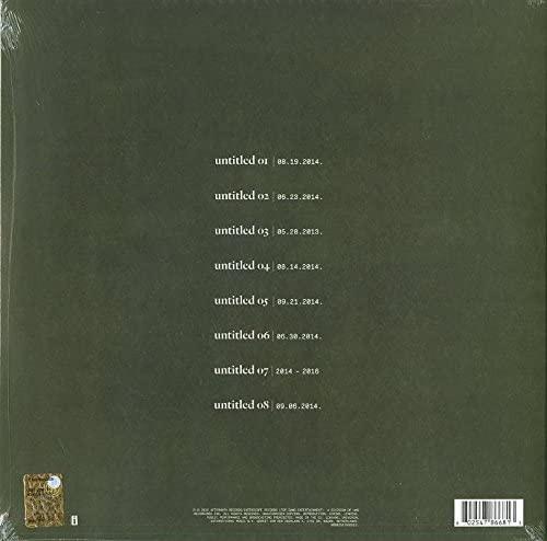 KENDRICK LAMAR-Untitled Unmastered-Vinyl Lp-Brand new/Still Sealed-LAS_67